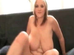 Beautiful blonde is so hot and sexy
