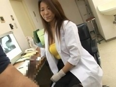 Akira Ichinose is a horny Asian female doctor