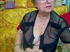 Real Granny in the web camera R20