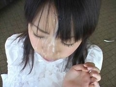 Japanese legal age teenagers facial compilation