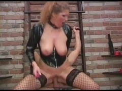 Latex porn video with soft cunnilingus and bdsm scenes