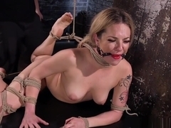 Inked Sub Tiedup And Tormented By Maledom