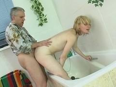HornyOldGents Movie: Inessa B and Caspar M