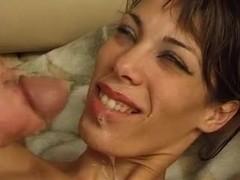 Sexy Arabian girl in nurse costume fucking a naked man