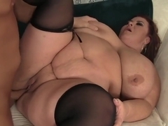 Pretty Plumper Is Fucked In Her Pussy
