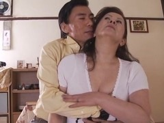 Chizuru Iwasaki hot mature gets messy cumshot