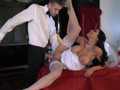 Bride Gets A Fat Cock