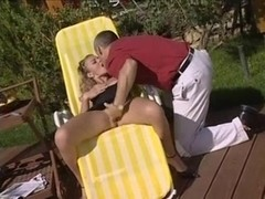 Sexy anal outdoors