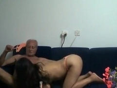 Wife receives double penetration by blacks
