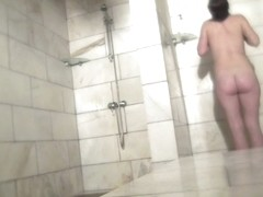 Hot Russian Shower Room Voyeur Video  25