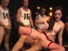 Incredible pornstars Jennifer White, Billy Glide, Brandon Iron in Amazing Pornstars, Gangbang xxx video