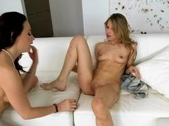 Crazy pornstars Jillian Janson, Chanel Preston in Exotic Rimming, Cunnilingus xxx scene