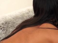 Exotic pornstar in Incredible Brunette, Lesbian xxx scene