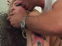 Hottest pornstars Mick Blue, James Deen, Dahlia Sky in Amazing MILF, DP adult scene