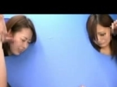Wicked Japanese babes enjoying a kinky sex game