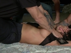 Hot horny parole officer put in her place by bad boy parolee