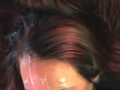 Straddling Facial Cumpilation