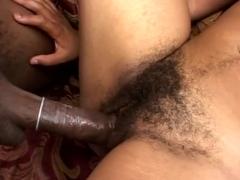 Desire Reveals Marvelous Hairy Pussy