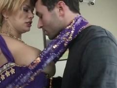 Spicy Shyla Stylez treats her fucker with sweet boobs!
