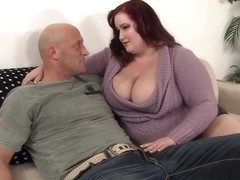 Eliza Allure in Fat Redhead Eliza Allure Fucksher Boyfriend So Silly. - JeffsModels
