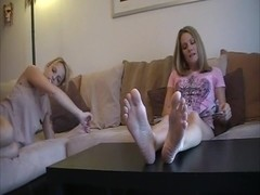 Suck My Toes Now! - foot fetish lesbians