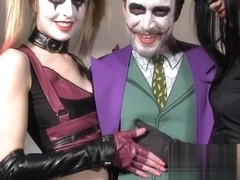 Jessica Jensen, Tina Kay in The Joker's Threesome Scene