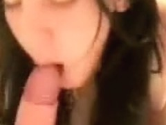 Great blowjob for a big load of cum