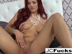 Jayden Cole in Jayden Cole Loves Her Pearl Necklace As Much As Her Wet Cunt - JaydenCole