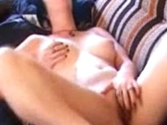 gal overhears sister fucking in next room and masturbates