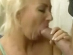 Blonde Mature Loves Big Cock