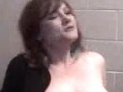 Chubby redhead girl masturbating on webcamera