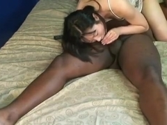 Sucking A Black Cock And She Does A Beautiful 88