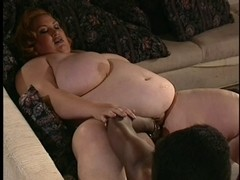 two SSBBW's & Dark Strapon