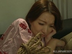 Mio Takahashi naughty milf is all tied up
