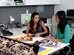 Lesbian Office Seductions #08, Scene #04
