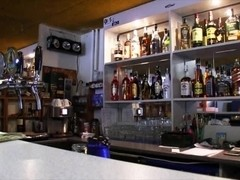 Bartender Lenka pussy pounded for money