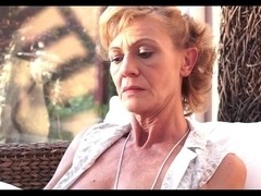 Busty granny squirting