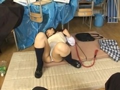 Minako Saotome Naughty Asian schoolgirl