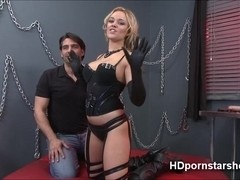 Super wet Alexis is having sex live in her first webcam show
