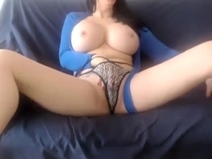 Teen brunette with natural boobs and Part 02