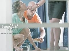 Gina Gerson in Breakfast in Bed Scene