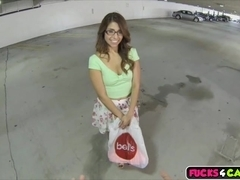 Teen chick Isabella De Santos loves a hard cock