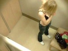 Changing room spy cam