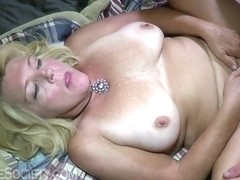 Hot Mature Blonde Enjoys Fucking