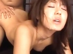 Exotic Japanese girl Sakura Morino in Amazing Foot Fetish, Swallow/Gokkun JAV movie