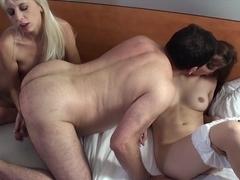 Hottest pornstars in Amazing German, Threesomes xxx movie