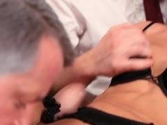 Exotic pornstar in Fabulous Threesomes, Hardcore sex video