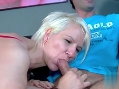 Horny pornstar in Fabulous Cumshots, Stockings adult video