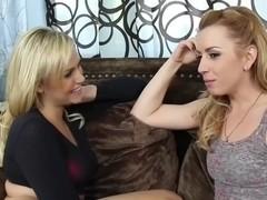 Lexi B. & Mia M - having fun with a Cock