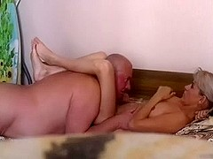 old russian dick and pretty milf pt. 1